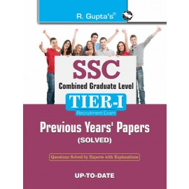 RPH SSC Combined Graduate Level (Tier-I) Previous Years' Papers (Solved) (R-90) - 2018