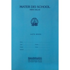 Mater Dei School Register (Thick) A4 - 280 Pages