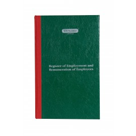 Writeaway Register of Employment And Remuneration of Employees Part 1 Form H(Hard Bound) 120 Pages