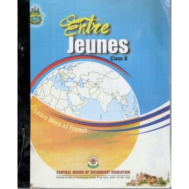 CBSE Entre Jeunes Text Book of French for Class 10
