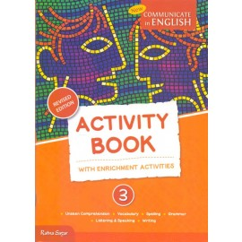 RatnaSagar Communicate in English Activity for Class 3 (CCE Edition) by Uma Raman