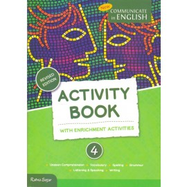 RatnaSagar Communicate in English Activity for Class 4 (CCE Edition) by Uma Raman