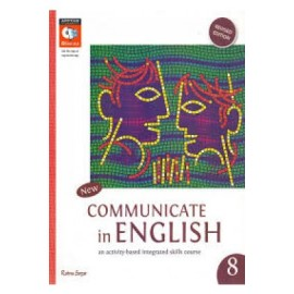 RatnaSagar Communicate in English Reader for Class 8
