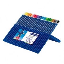 Staedtler Ergosoft Water Colour Pencils Set of 24 in Staedtler Box (156SB24)