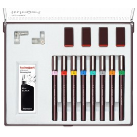 Isomars Technical Drawing Pens - Set of 8