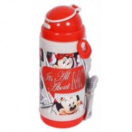 Disney Minnie Mouse Insualted Sipper Bottle (400 ml)