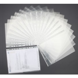 Solo Sheet Protectors-Heavy Duty (SP102) - Pack of 20