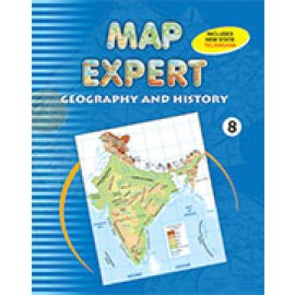 Tarun Map Expert (Geography & History) for Class 8