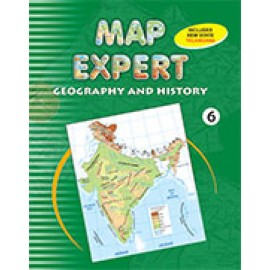 Tarun Map Expert Geography & History for Class 6