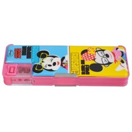 Disney Minnie Mouse Magnetic Pencil Box (Pink)