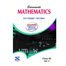 New Saraswati Mathematics (Vol .1 + Vol. 2 + Competition Booster) Textbook for Class 11