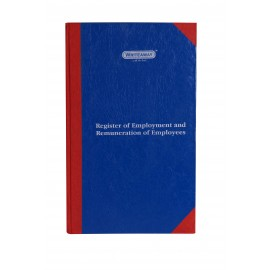 Writeaway Register of Employment And Remuneration of Employees Part 1 Form H(Hard Bound) 240 Pages