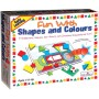 Creative Educational Aids Pre-School - Fun with Shapes & Colours (0618)
