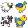 Creative Educational Aids Early Puzzles - Farm Animals (0735)