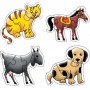 Creative Educational Aids Early Puzzles - Domestic Animals (0736)