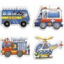 Creative Educational Aids Early Puzzles - Special Vehicles (0738)