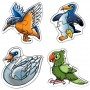 Creative Educational Aids Early Puzzles - Birds (0757)