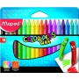 Maped Colour Peps Wax Crayons 18 Shades (861012)