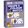Creative Educational Aids Pre-School - Shape and Colour Match Puzzles (1063)